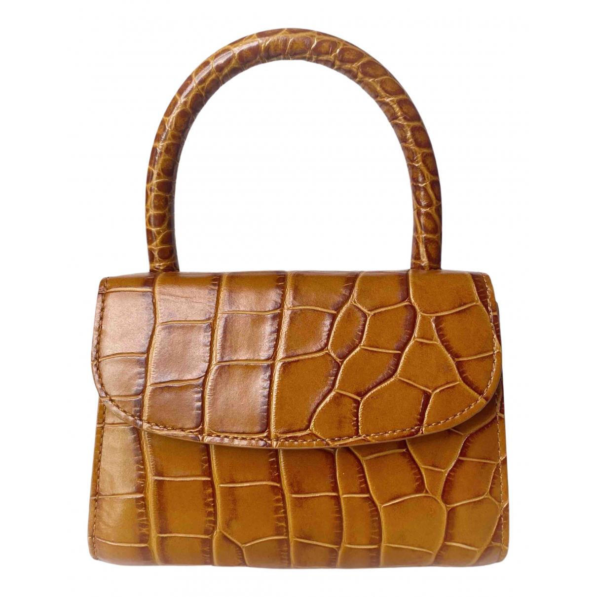 By Far Mini Brown Leather handbag for Women N