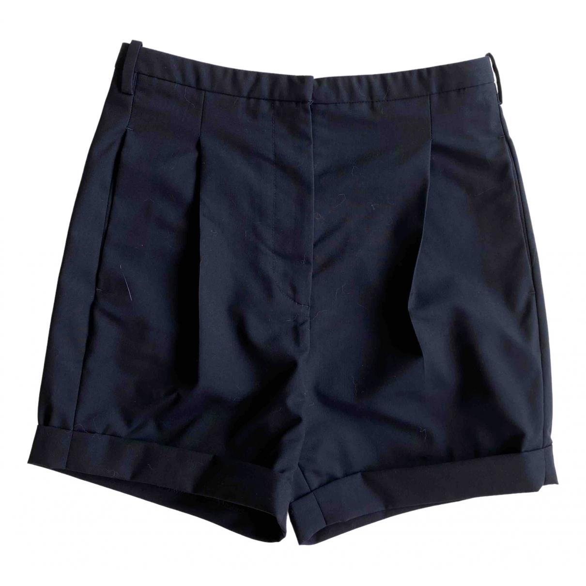 Golden Goose \N Shorts in  Blau Wolle