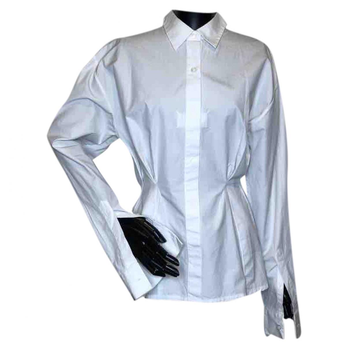 Maison Martin Margiela \N White Cotton  top for Women 40 IT