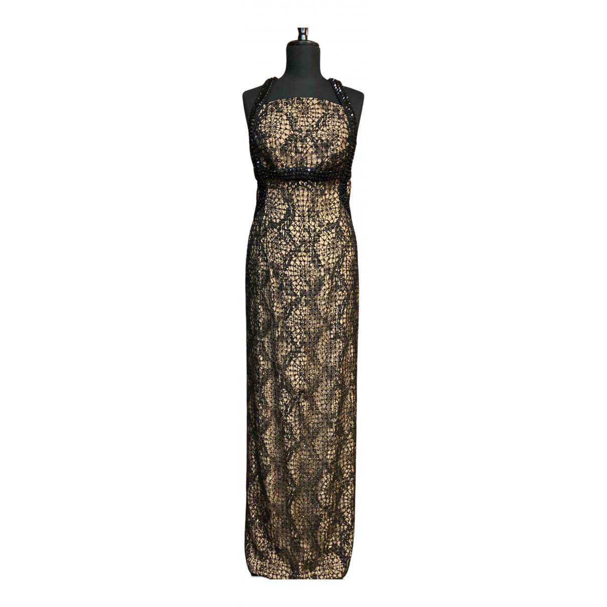 Versace \N Kleid in  Schwarz Spitze