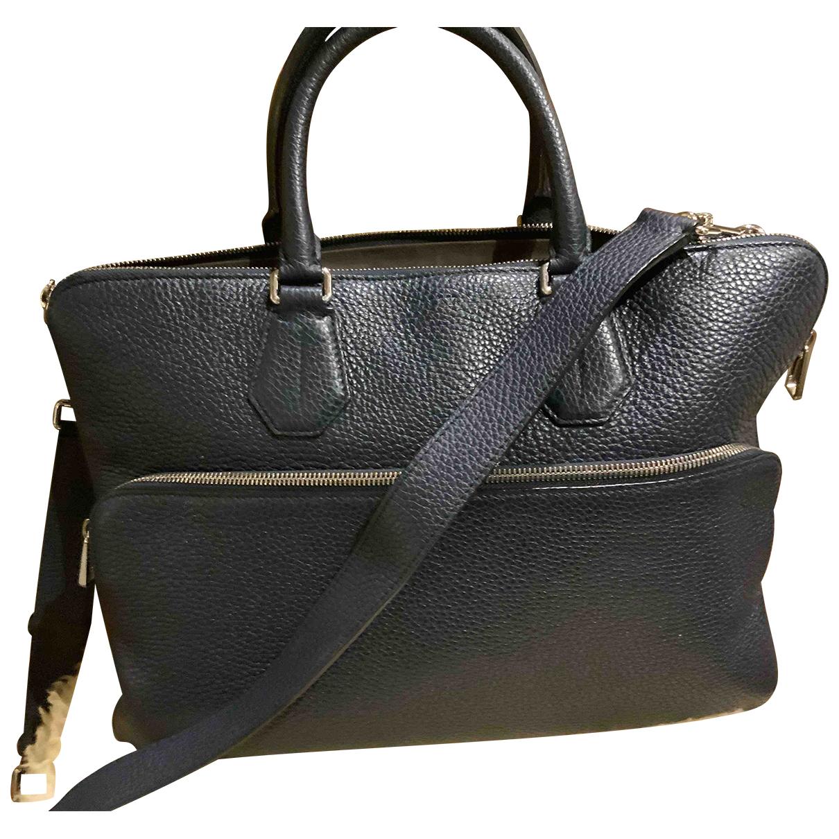 Bally \N Navy Leather handbag for Women \N