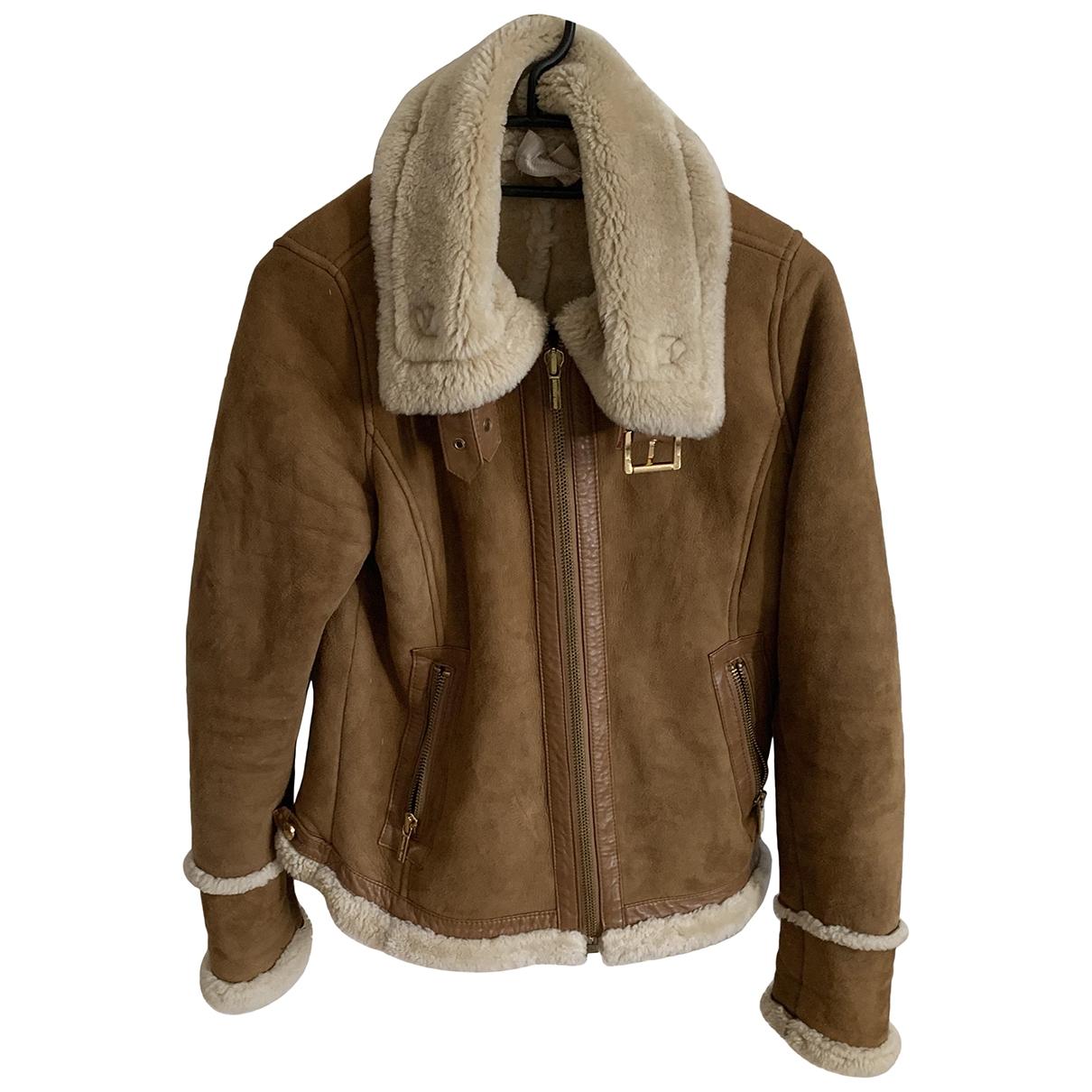Michael Kors \N Brown Shearling coat for Women S International