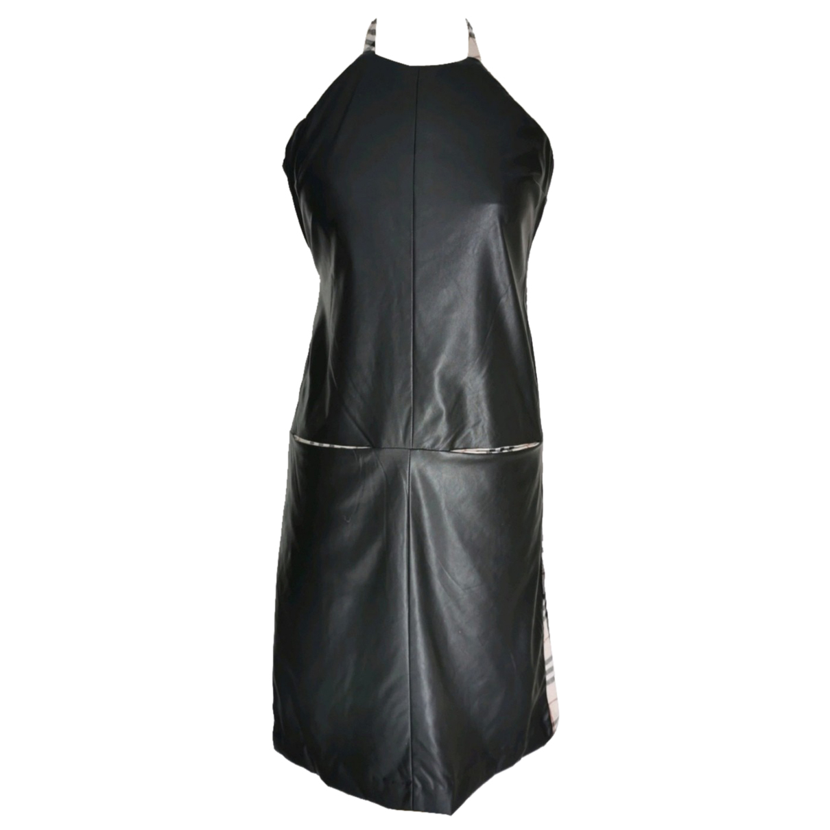 Burberry N Black Linen dress for Women 36 FR