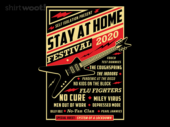 Quarantine Festival T Shirt
