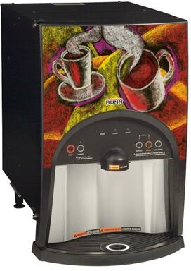 38800.0004 LCC-2 LP Low Profile 2 Product Liquid Coffee Ambient Dispense with Scholle 1910LX  LED Light Alerts  in