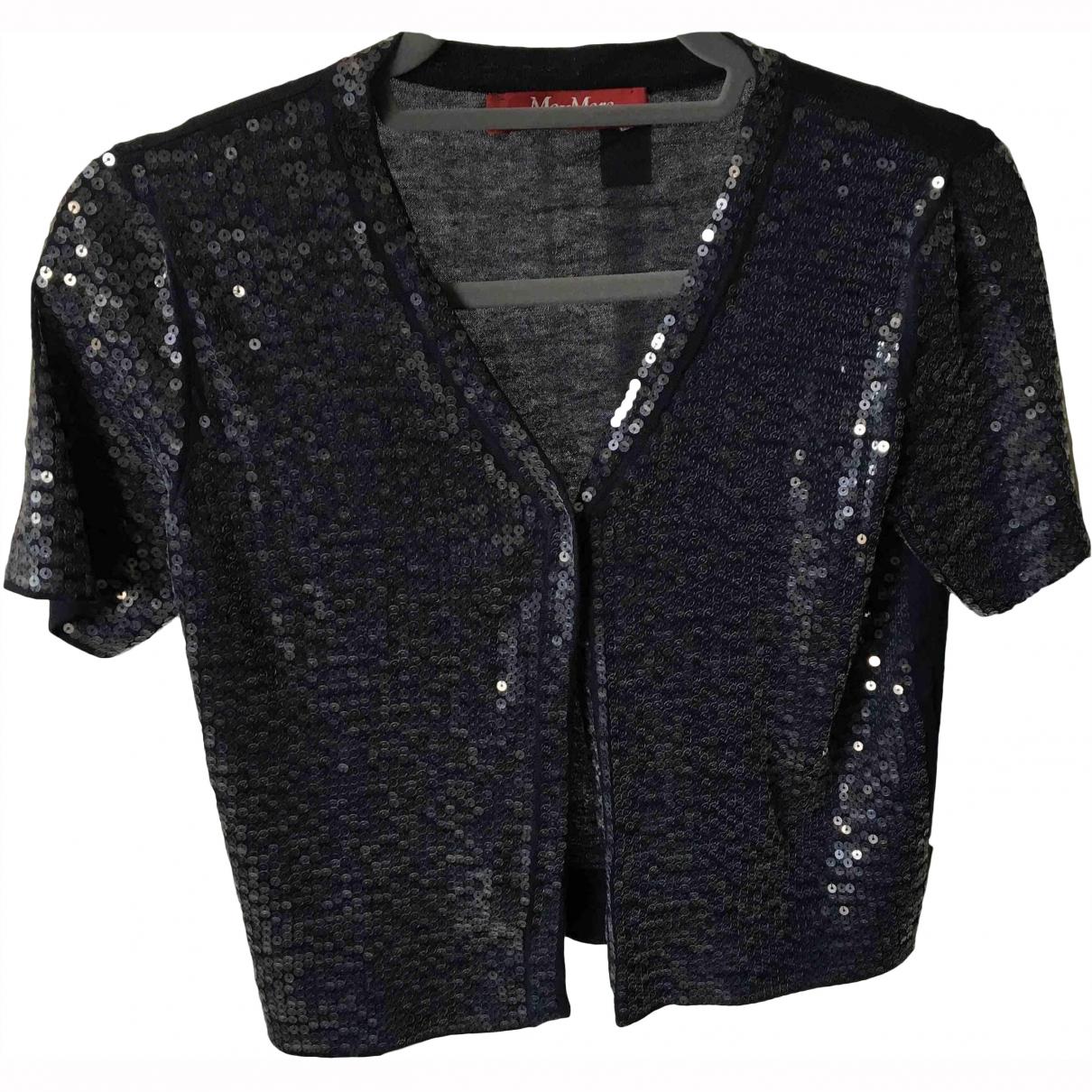Max Mara \N Blue Cotton Knitwear for Women S