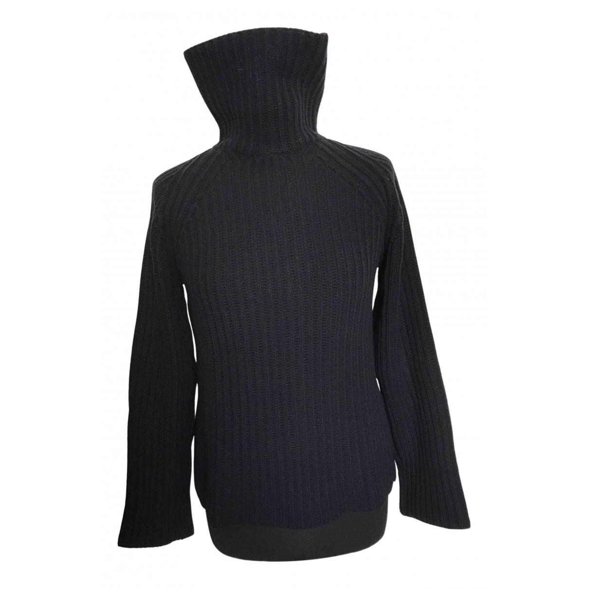 Prada - Pull   pour femme en laine - bleu