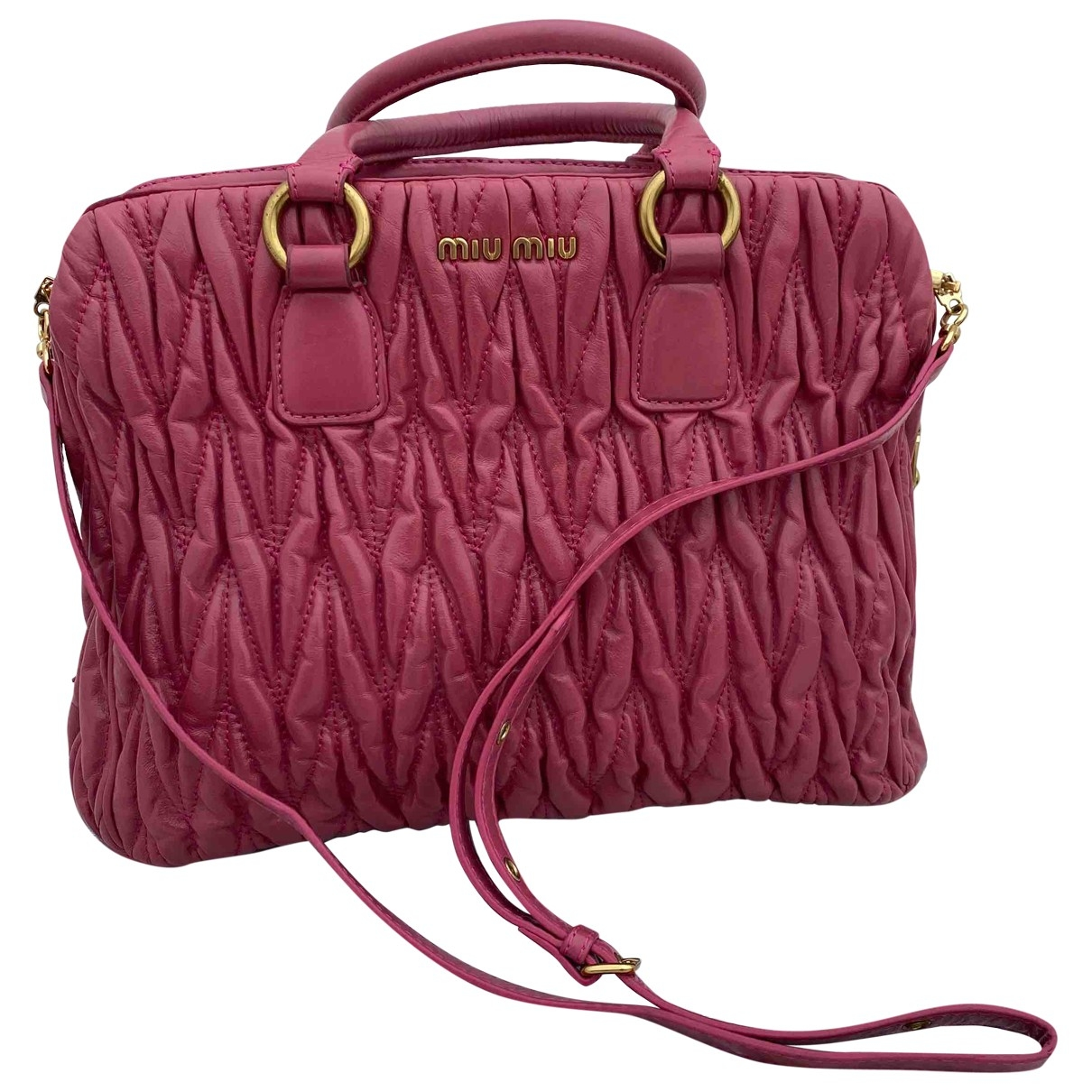 Miu Miu Matelassé Leather handbag for Women \N