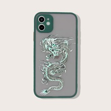 Contrast Frame Chinese Dragon iPhone Case