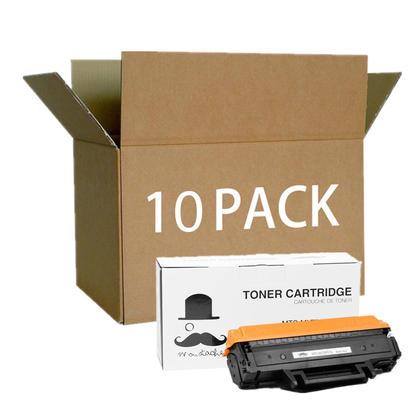 Compatible Samsung MLT-D111S cartouche de toner noire - Moustache - 10/paquet