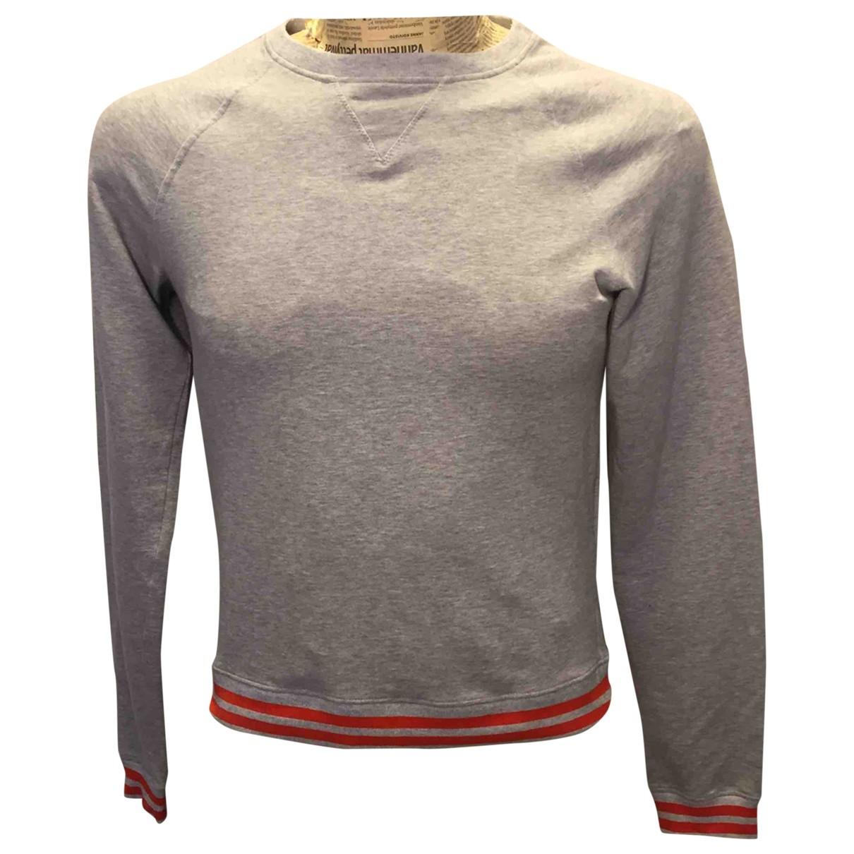 Prada \N Pullover.Westen.Sweatshirts  in  Grau Baumwolle