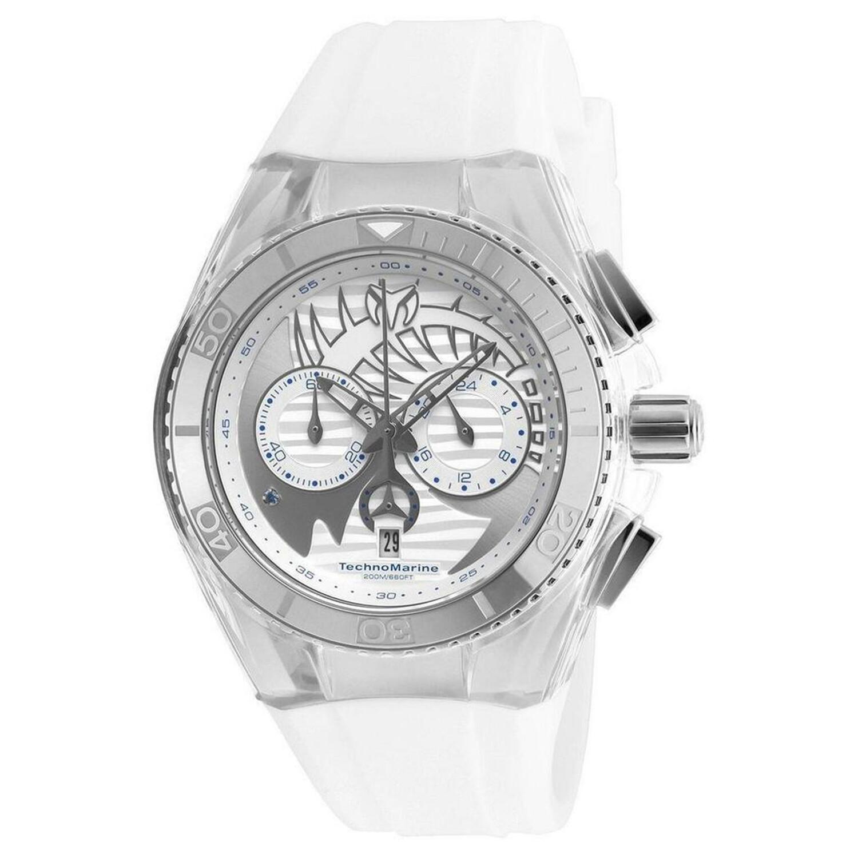 Technomarine Womens Cruise Dream TM-115005 White Silicone Quartz Fashion Watch