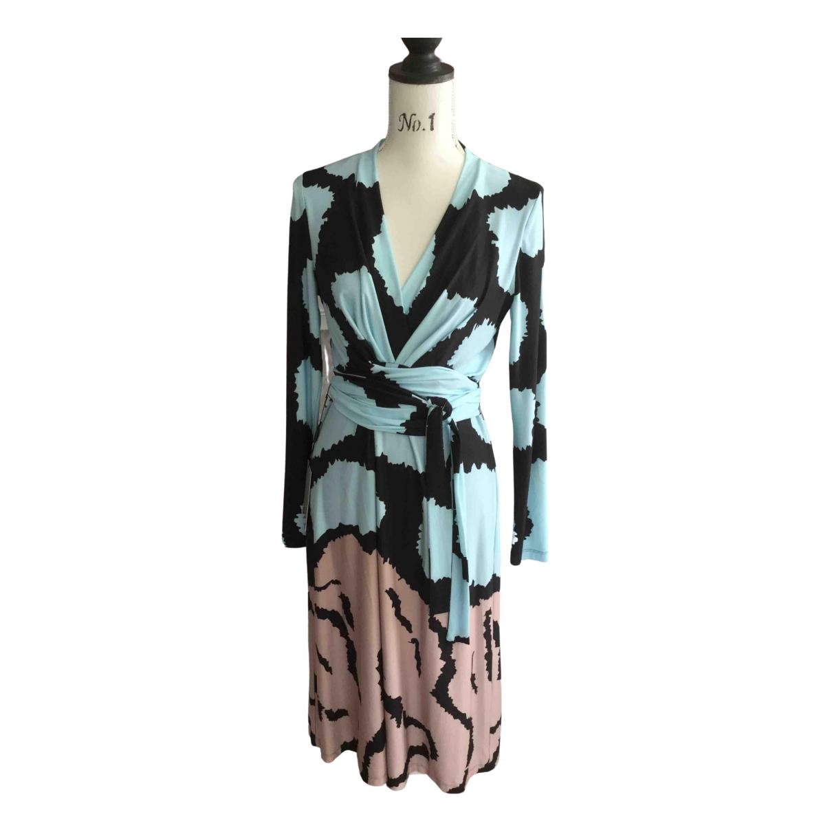 Issa \N Kleid in  Blau Polyester