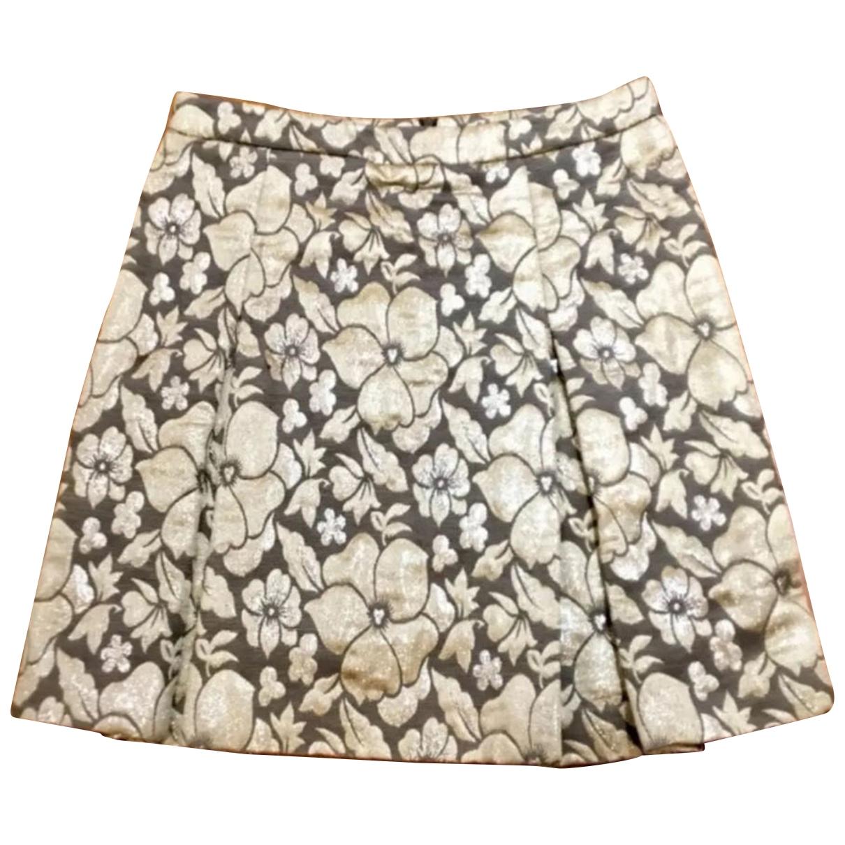 Miu Miu \N Rocke in  Gold Polyester