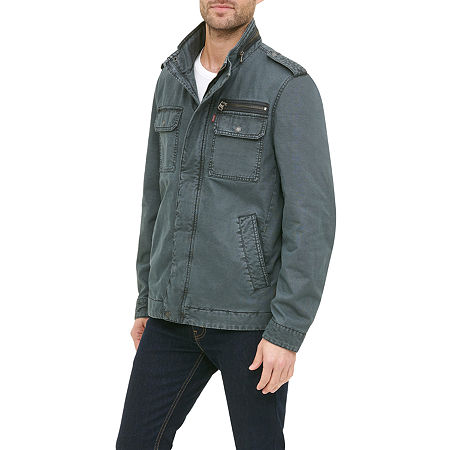Levi's Men's Military Jacket, Large , Blue