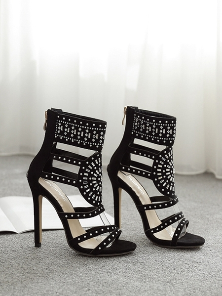 Yoins Hollow Heel Sandals
