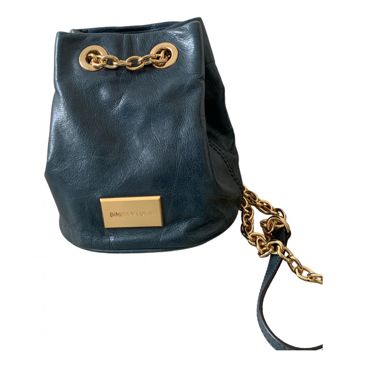 Bimba Y Lola \N Green Leather handbag for Women \N