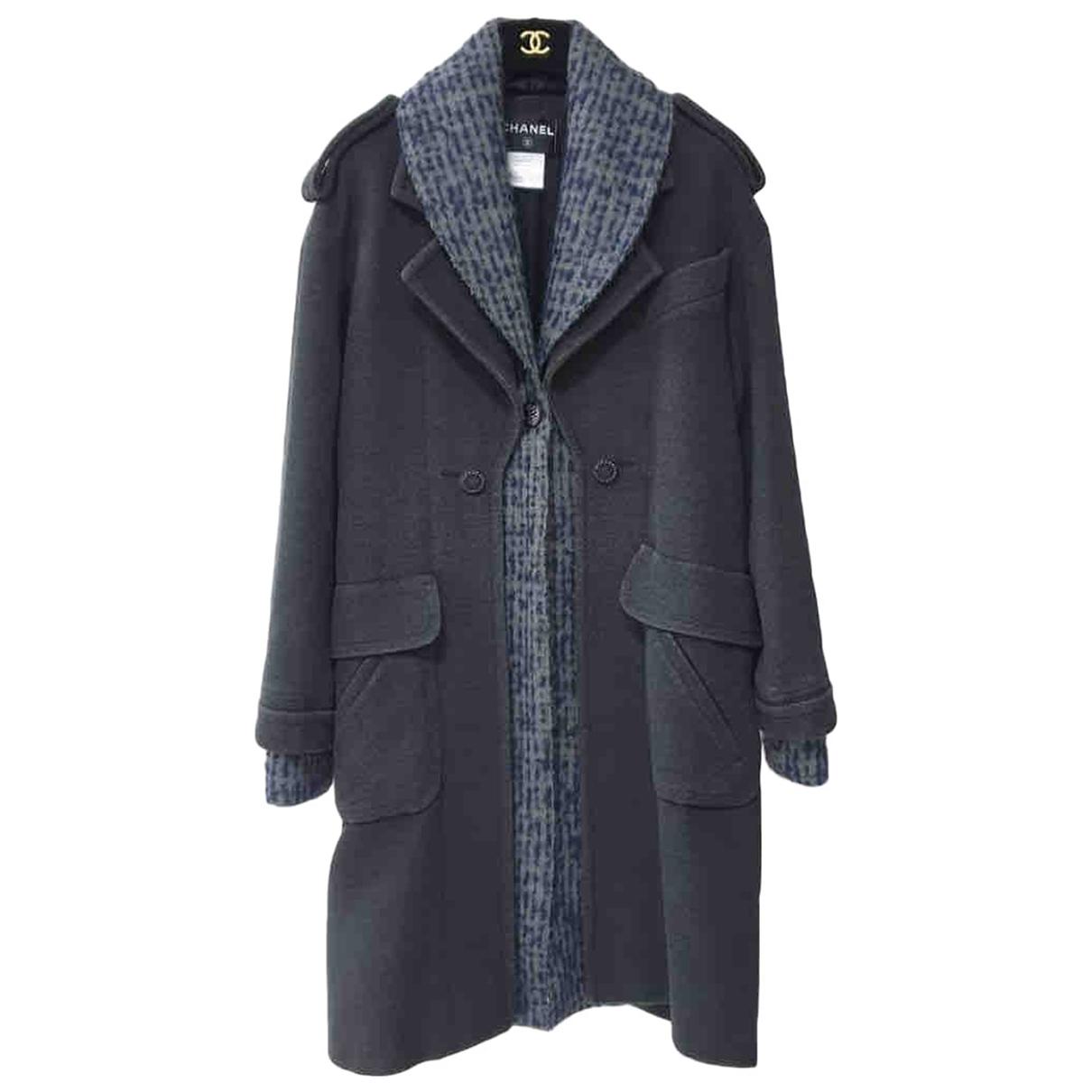 Chanel N Multicolour Wool coat for Women 34 FR