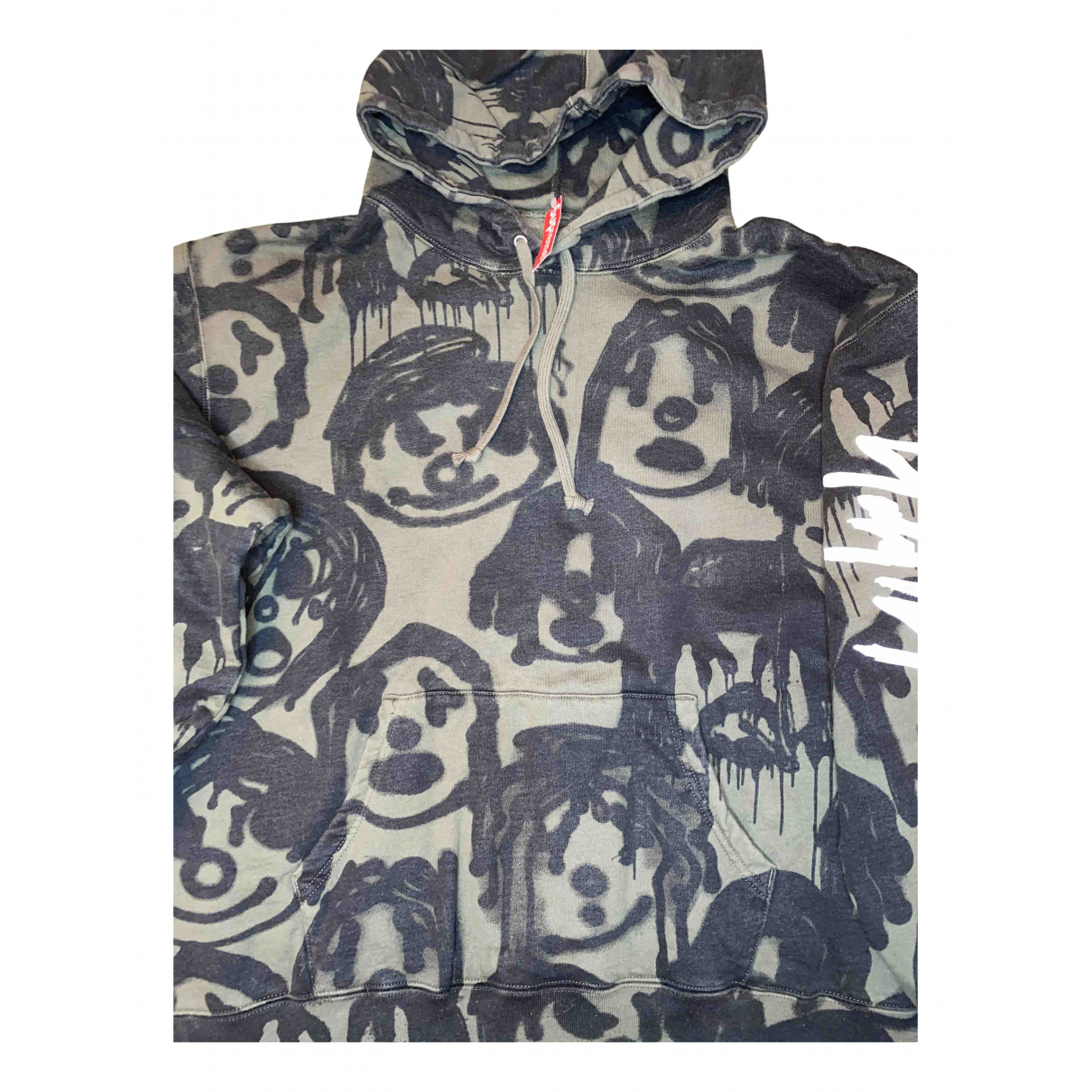 Supreme X Yohji Yamamoto \N Pullover.Westen.Sweatshirts  in  Khaki Baumwolle