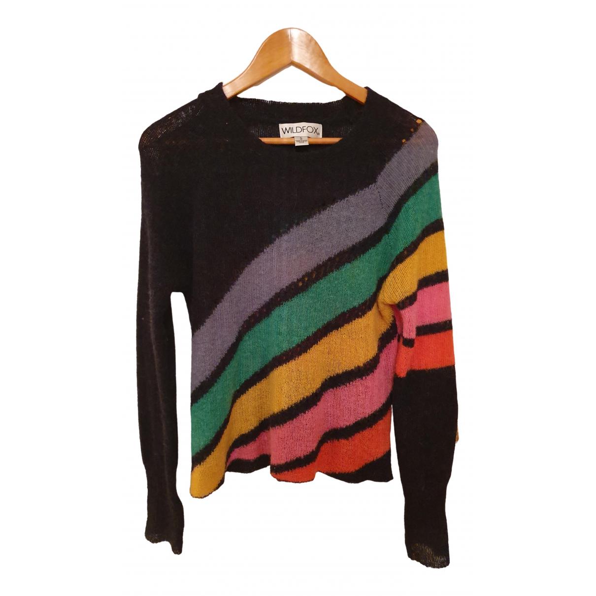 Wildfox - Pull   pour femme en laine - multicolore