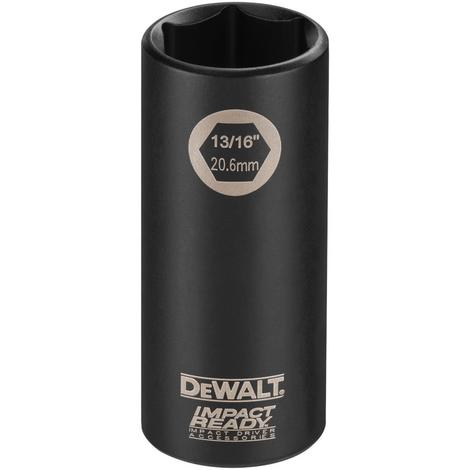 DeWalt 3/4 Deep Imp Ready SKT 3/8Dr