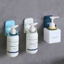 2pcs Wall Mounted Random Shampoo Holder