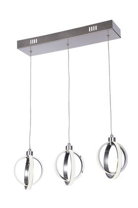 TR27 LED Lighting with Steel and Aluminum Materials and 34 Watts in Chrome