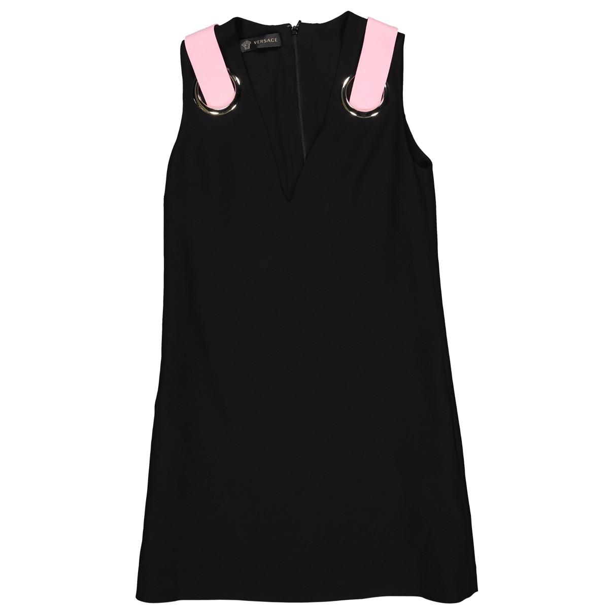 Versace \N Black Silk dress for Women 38 IT