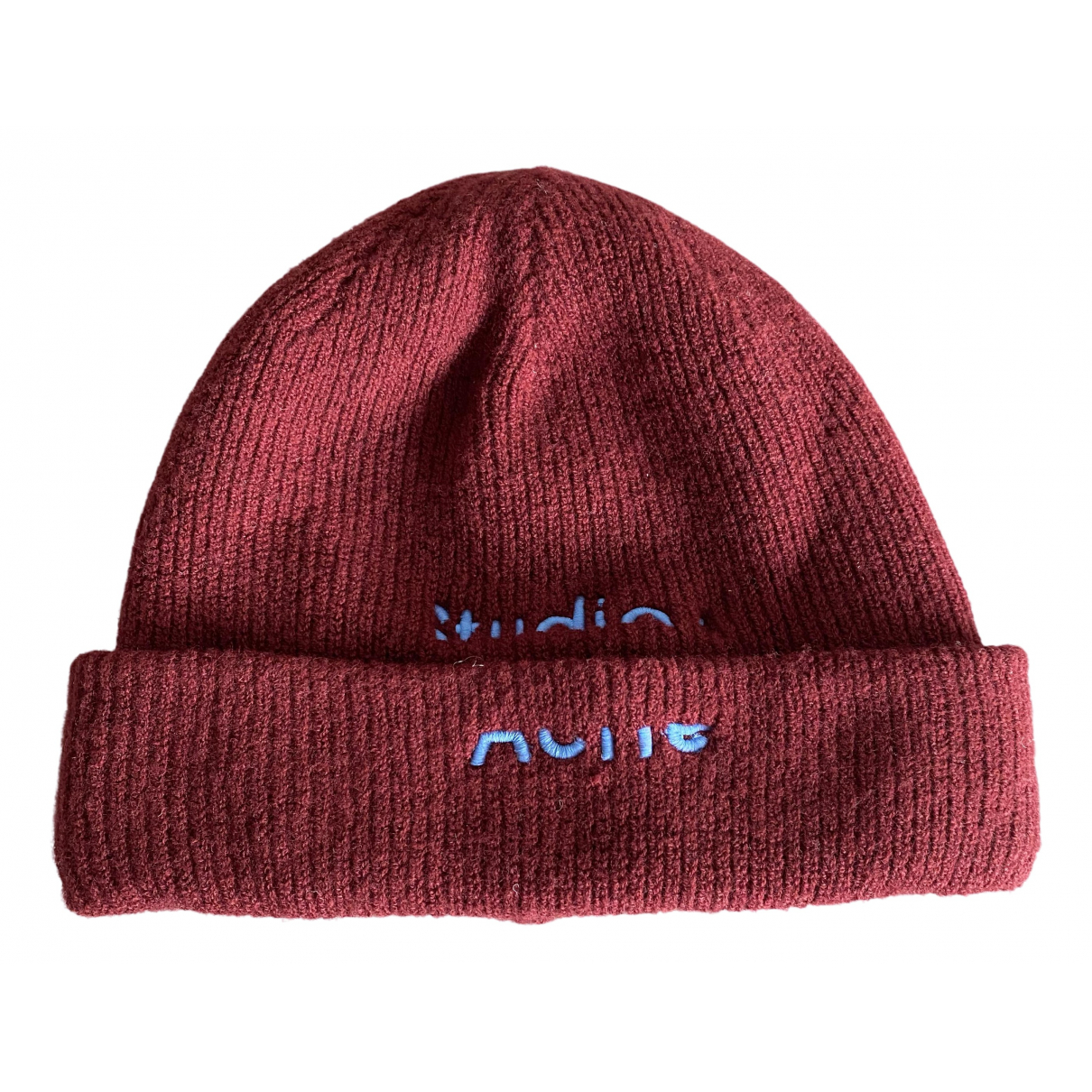 Acne Studios N Burgundy hat for Women 56 cm