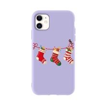 Christmas Socks Print iPhone Case