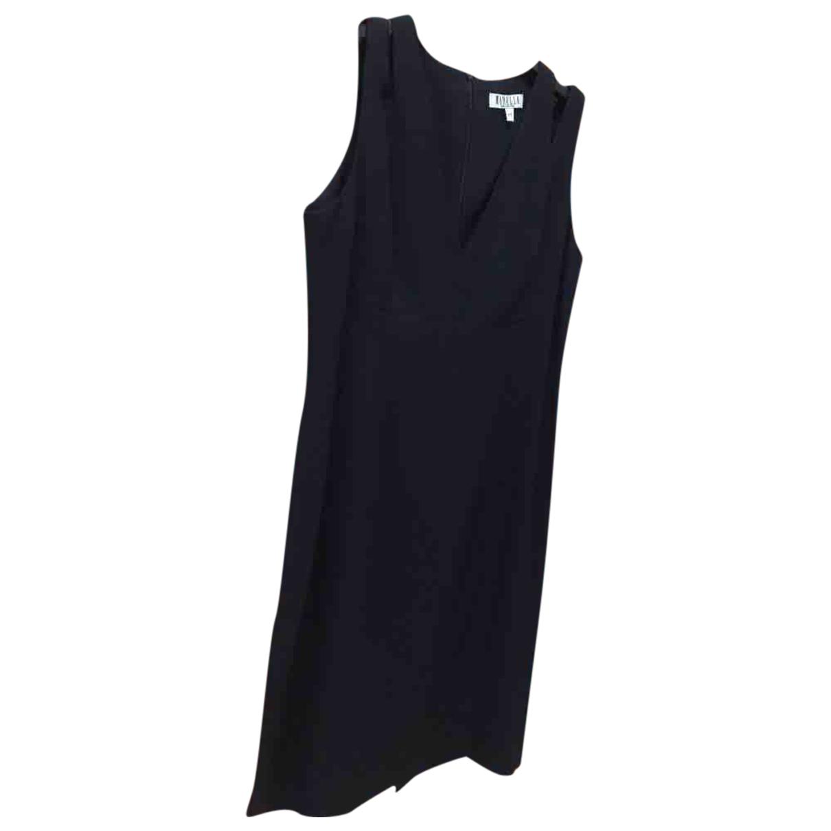 Marella \N Kleid in  Schwarz Polyester