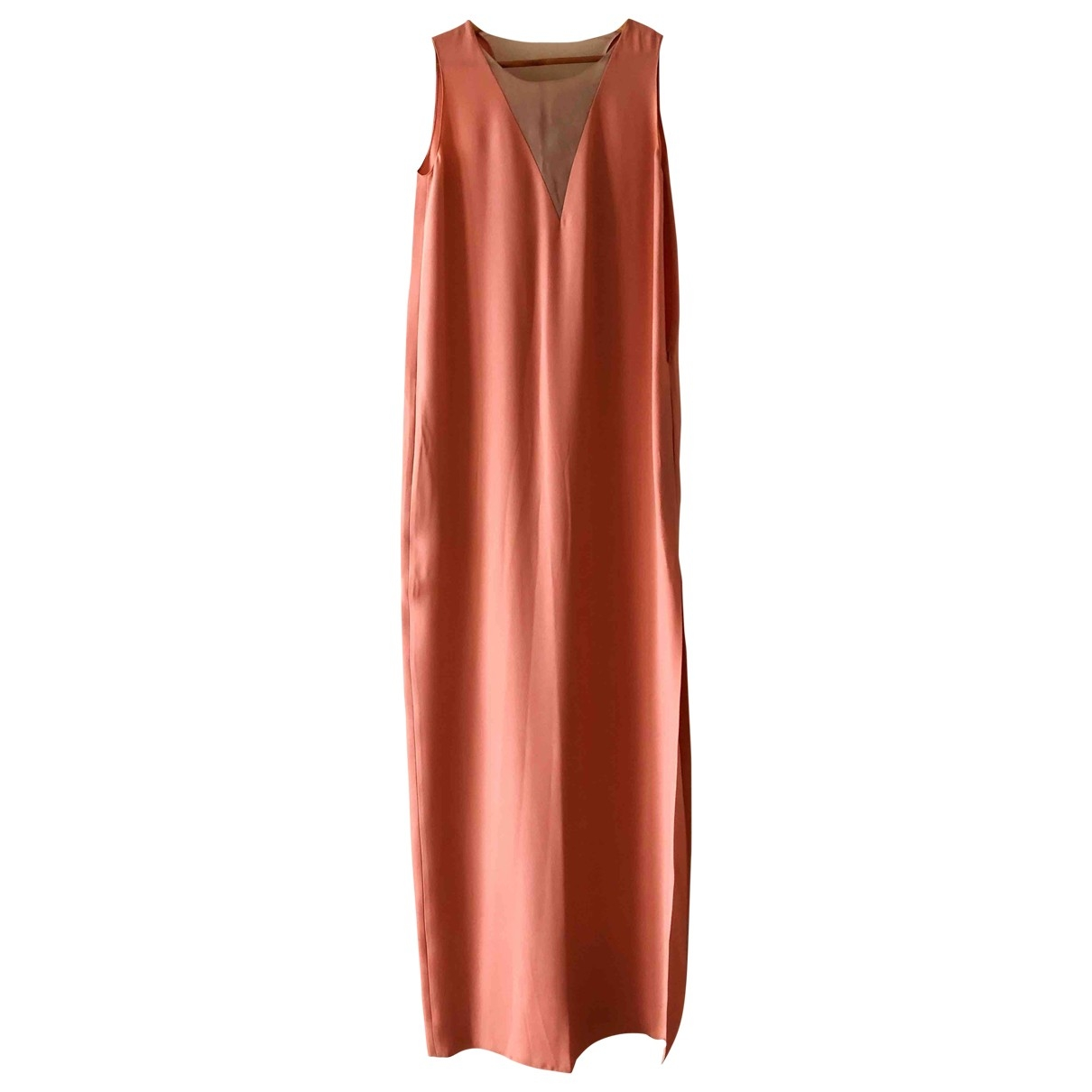 Lanvin \N Pink Silk dress for Women 38 FR