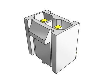 Samtec , IPBD Male Crimp Connector Housing, 4.19mm Pitch, 4 Way, 1 Row (50)