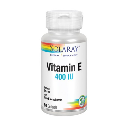 Vitamin E 50 Softgels by Solaray