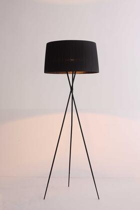 372220 HomeRoots 20 X 20 X 69 Carbon Floor Lamp in