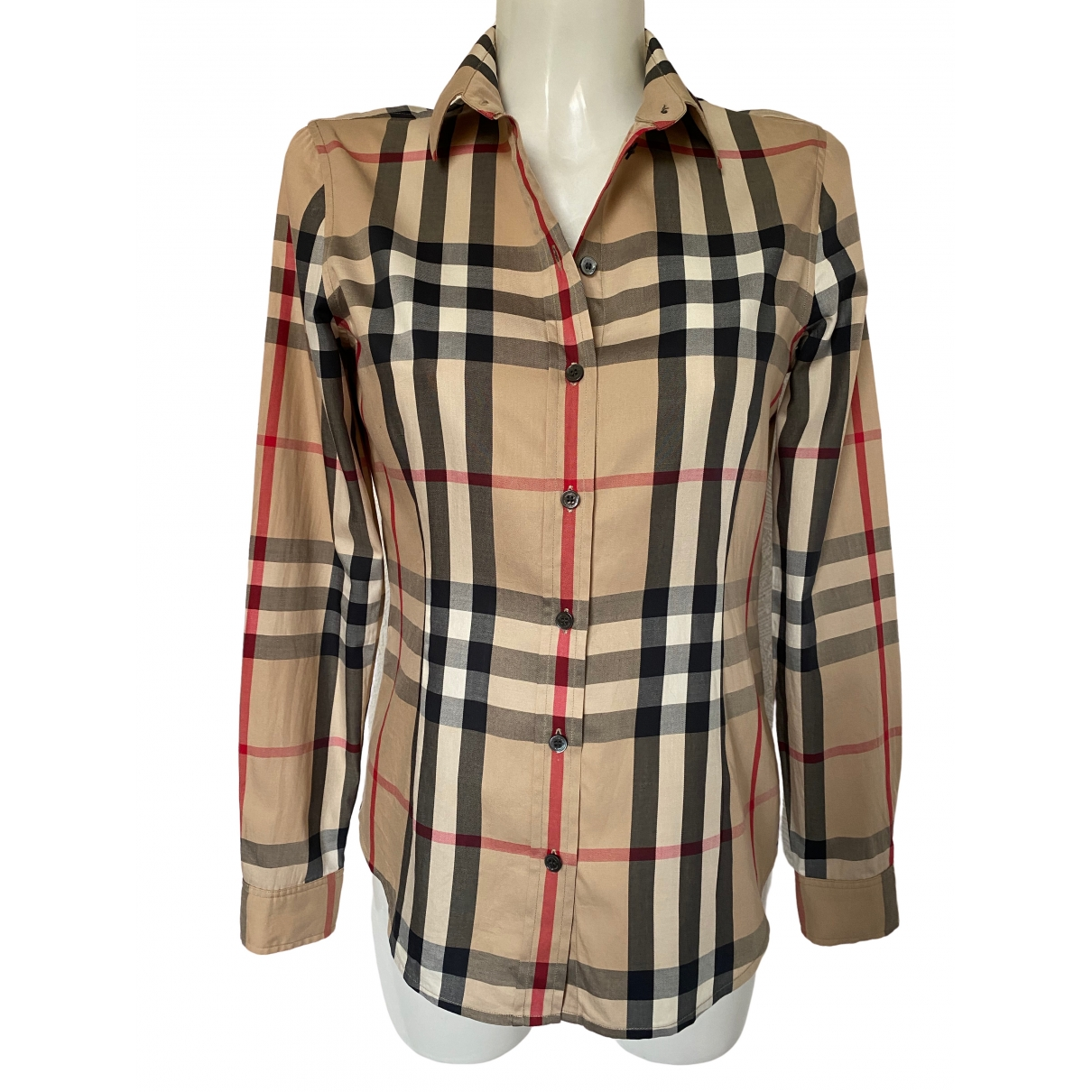Burberry \N Beige Cotton  top for Women S International