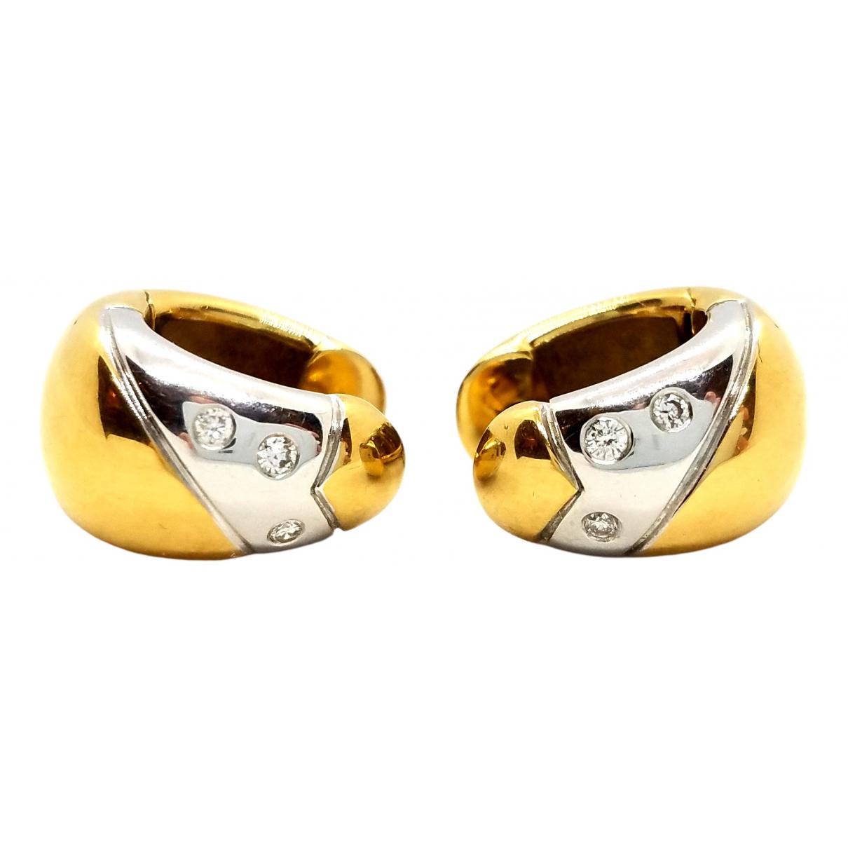 Autre Marque - Boucles doreilles   pour femme en or jaune - dore