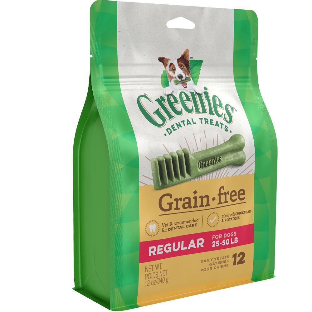 Greenies Grain Free - Regular 12oz (12 Bones)