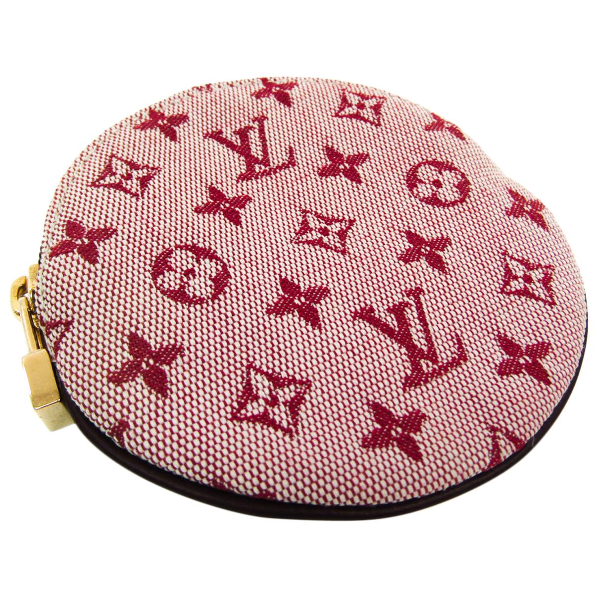 Louis Vuitton - Portefeuille   pour femme en toile - rose