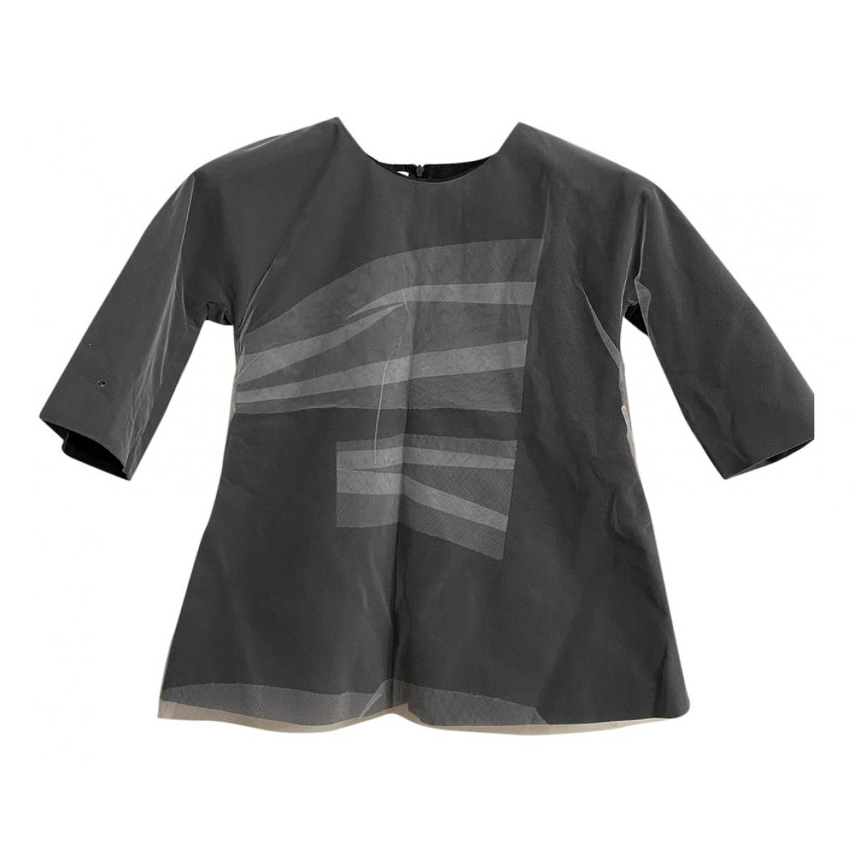 Jil Sander - Top   pour femme en coton - noir