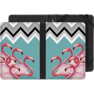 PocketBook Touch 622 eBook Reader Huelle - Flamingo Pattern von Mark Ashkenazi