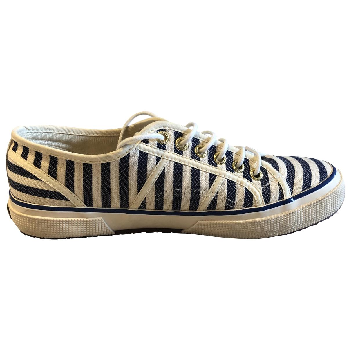 Superga \N Sneakers in  Weiss Leinen
