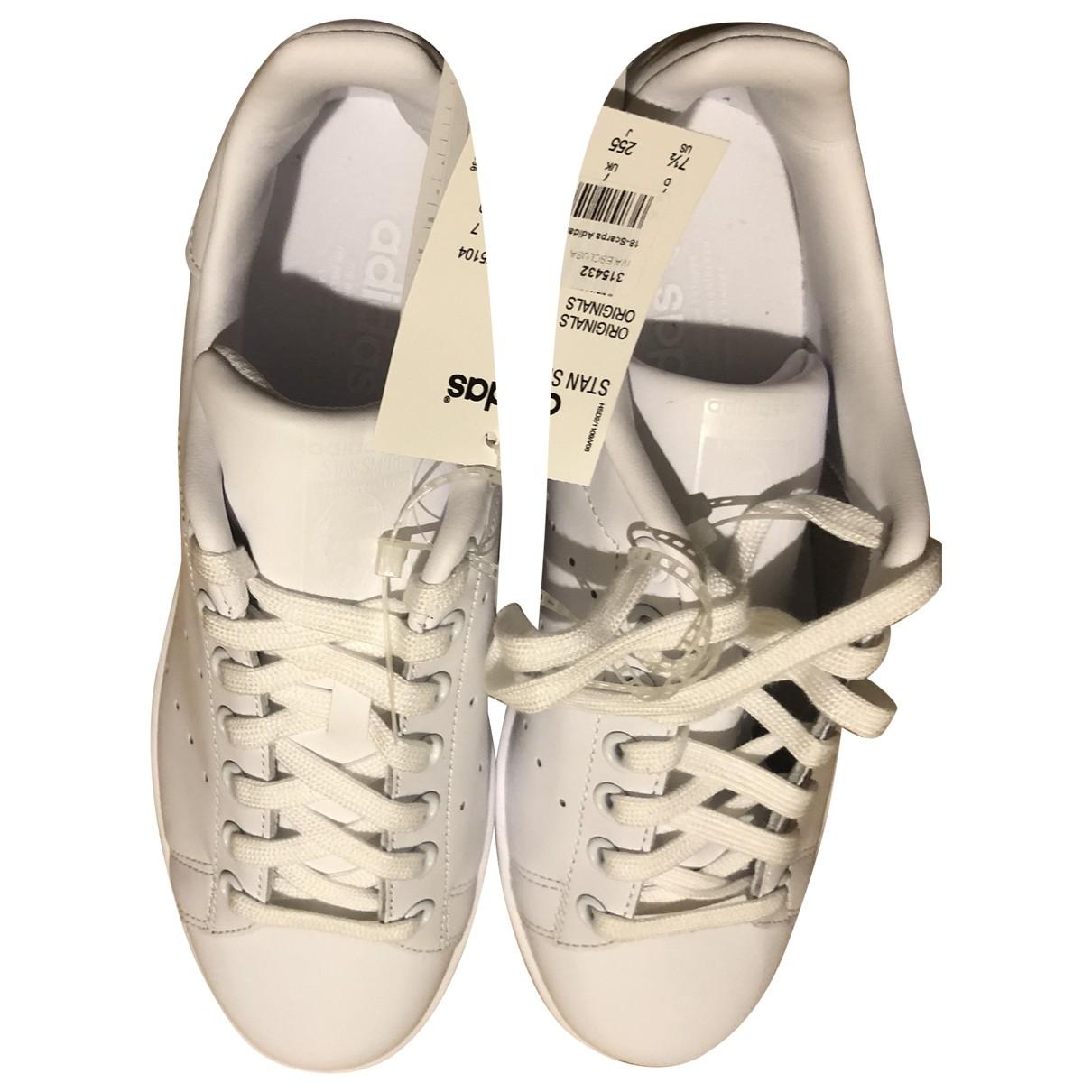Adidas - Baskets Stan Smith pour femme en cuir - blanc