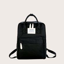Grosse Kapazitaet Rucksack mit Taschen vorn