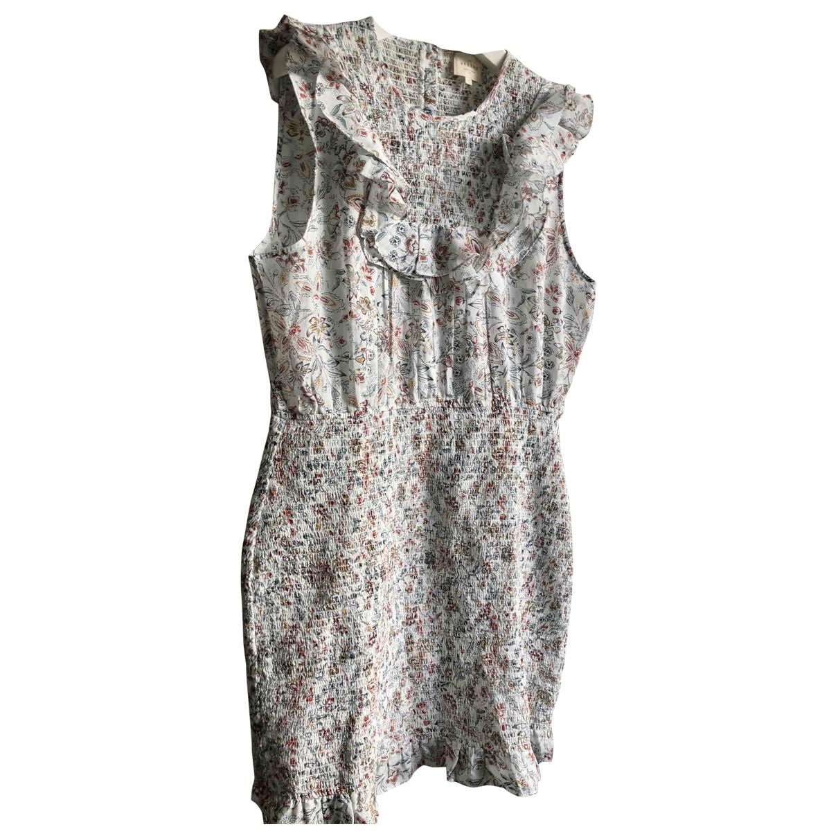 Sezane Spring Summer 2020 Kleid in  Bunt Baumwolle
