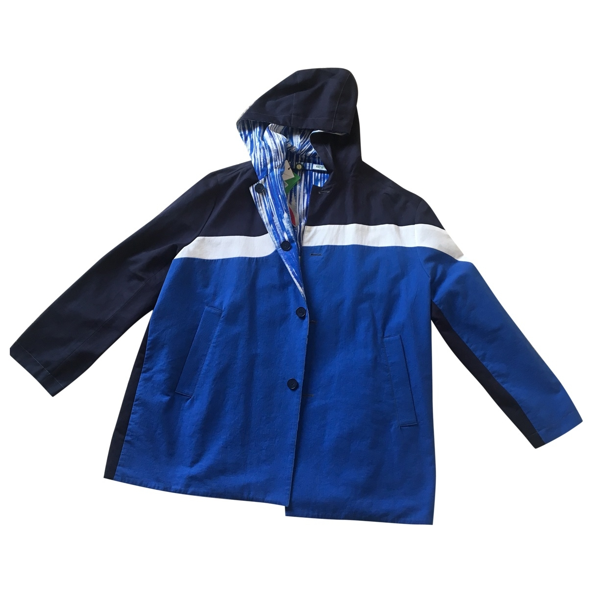 Kenzo \N Blue Cotton jacket  for Men S
