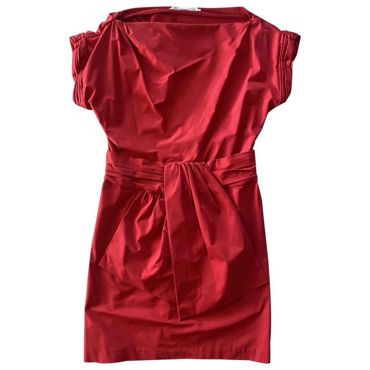 Diane Von Furstenberg \N Kleid in  Rot Synthetik