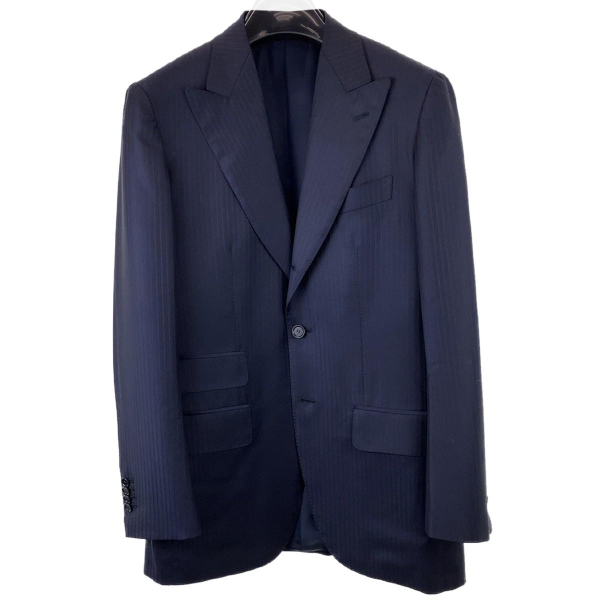 Ermenegildo Zegna - Costumes   pour homme en laine - noir