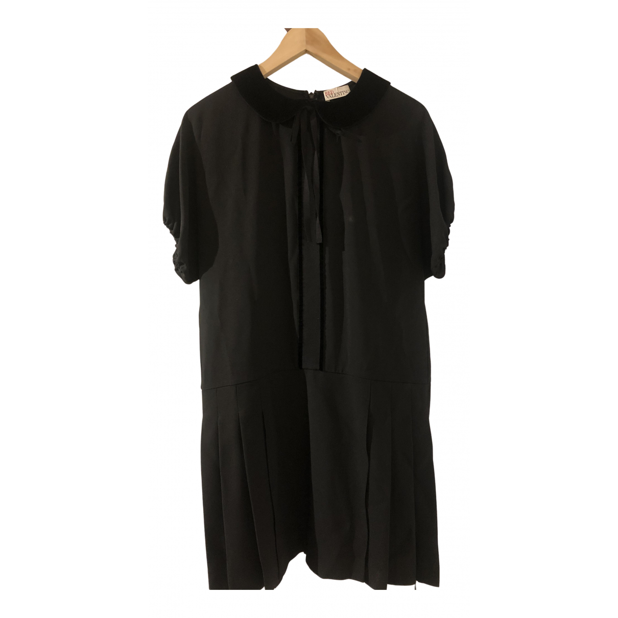 Red Valentino Garavani - Robe   pour femme en coton - noir