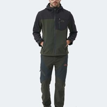 Sports Jacke mit Reissverschluss vorn, Kordelzug und Kapuze